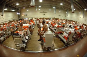 Overcrowded jails